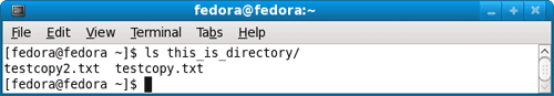 List file in Linux directory