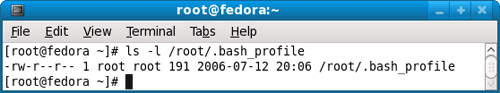 bash profile