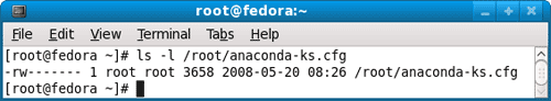 anaconda-ks.cfg configuration file properties