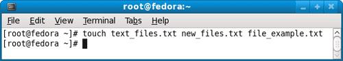 create empty file