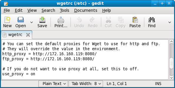 wget download using proxy server