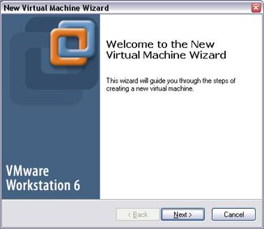 Virtual Machine Wizard VMware Workstation